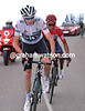 Chris Froome and Nairo Quintana on stage 20 of the 2016 Vuelta a EspaÒa