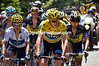 Chris Froome and Nairo Quintana on stage nine of the 2013 Tour de France