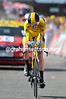 Chris Froome on stage eleven of the 2013 Tour de France