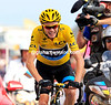 Chris Froome on ns stage fifteen of the 2013 Tour de France