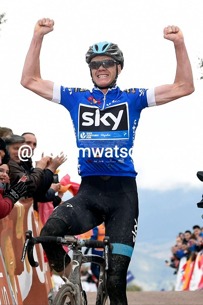 Chris Froome wins Stage 4 of the 2015 Tour of Andalucia Ruta Del Sol