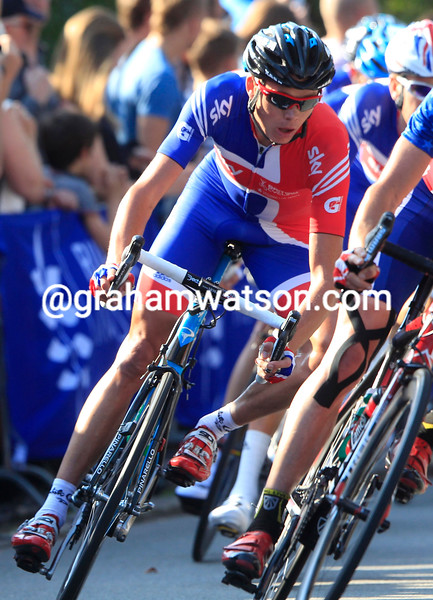CHRIS FROOME IN THE MENS ROAD RACE