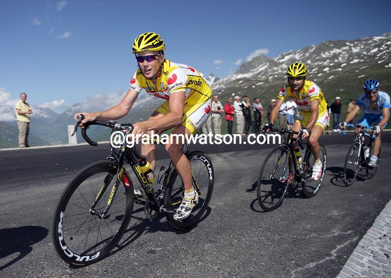 Chris Horner in the 2005 Tour de Suisse