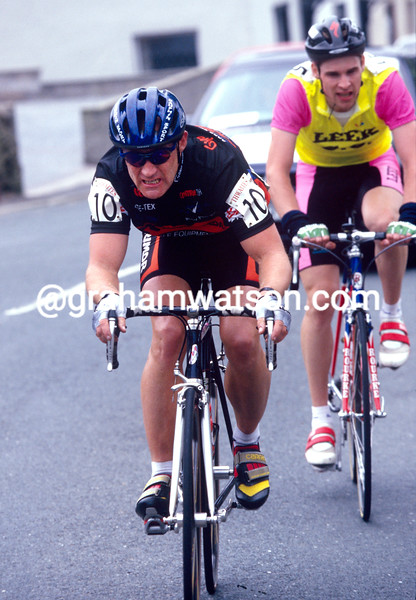 Chris Lillywhite in the 1995 Tour of Lancashire