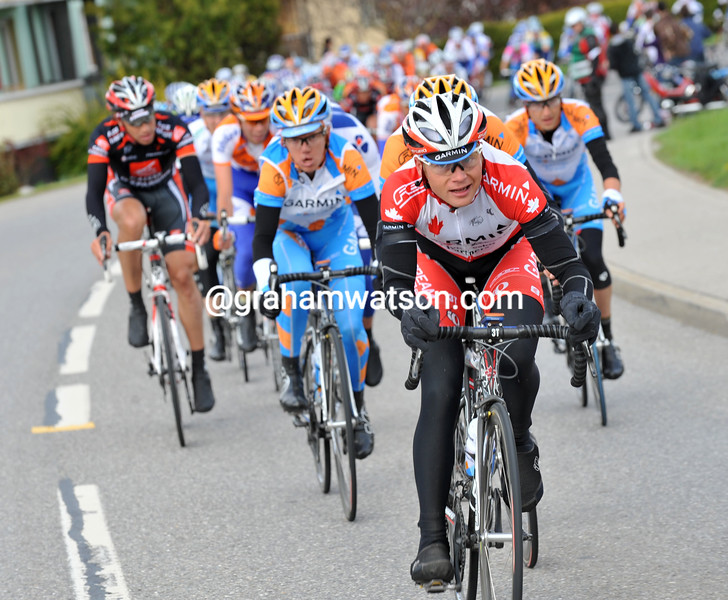 CHRISTIAN MEIER ON STAGE ONE OF THE 2009 TOUR DE ROMANDIE