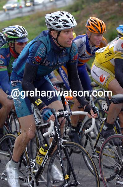 Christian Vande Velde in the 2004 Tour of Valencia