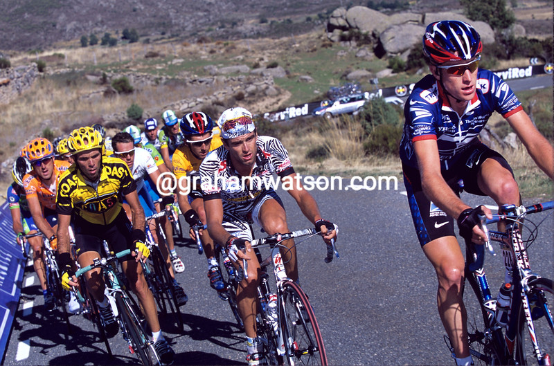 Christian Vande Velde in the 2002 Vuelta a España