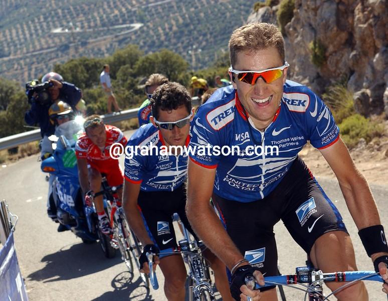 Christian Vandevelde in the 2003 Vuelta a Eapaña