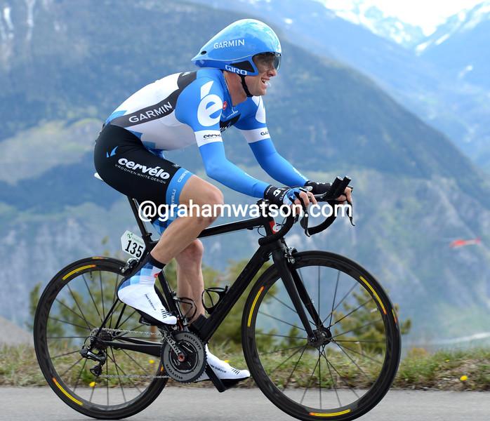 Christian Vande Velde in the 2012 Tour de Romandie