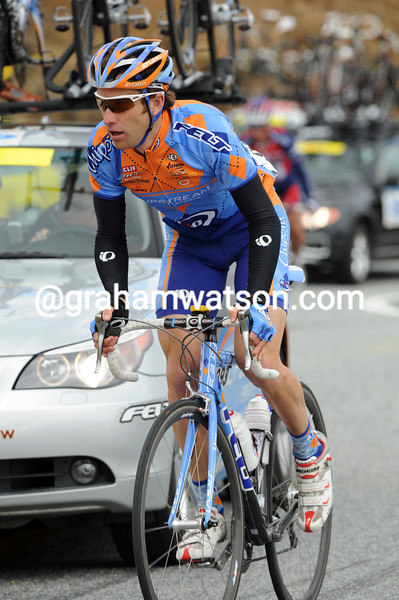 CHRISTIAN VANDEVELDE ON STAGE THREE OF THE 2008 TOUR OF CALIFORNIA