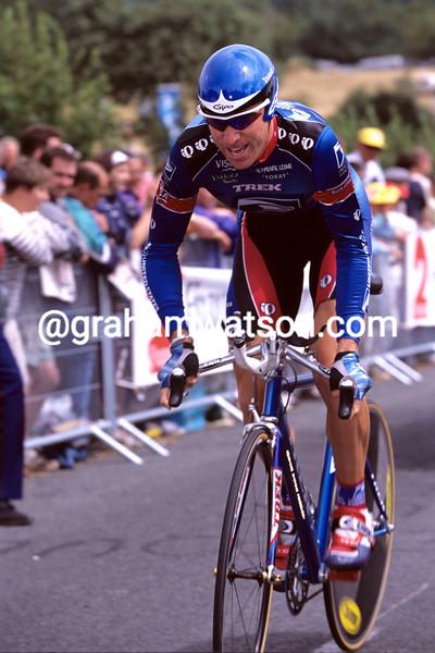 Christian Vande Velde in the 1999 Tour de France