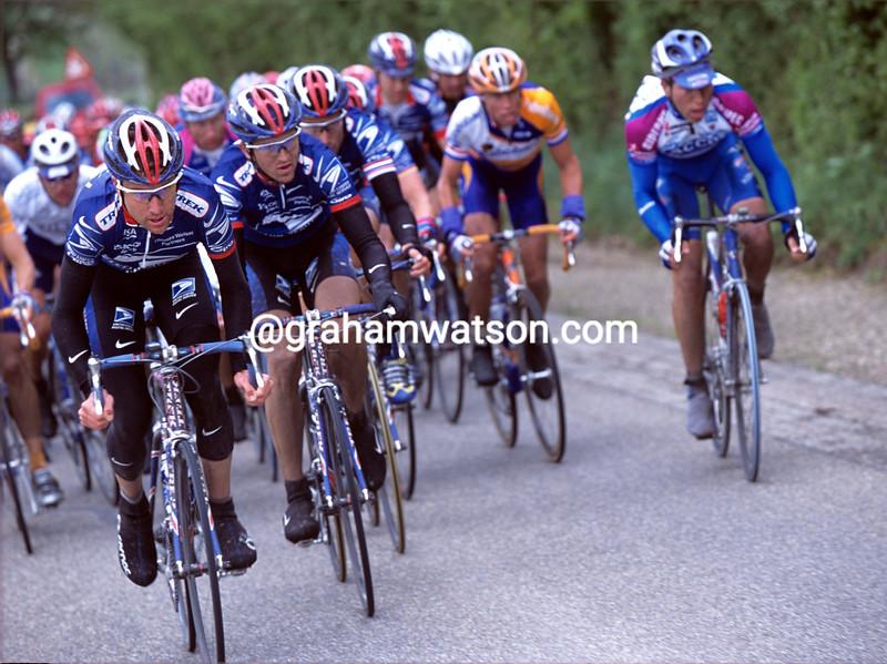 Christian Vande Velde in the 2001 Amstel Gold Race