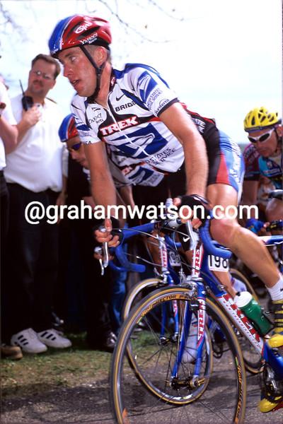 Christian VandeVelde in the 2000 Amstel Gold Race