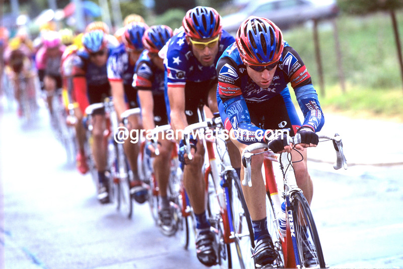 Christian Vande Velde in the 1998 Tour of Luxembourg