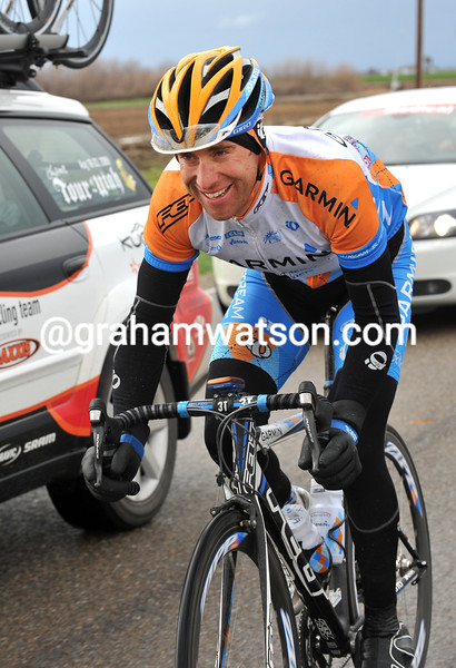 CHRISTIAN VANDE VELDE ON STAGE THREE OF THE 2009 TOUR OF CALIFORNIA