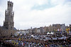 The start of the Tour of Flanders in Bruges