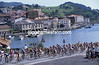 The peloton in the Clasica San Sebastian