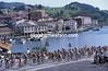 The peloton in the Clasica San Sebastian