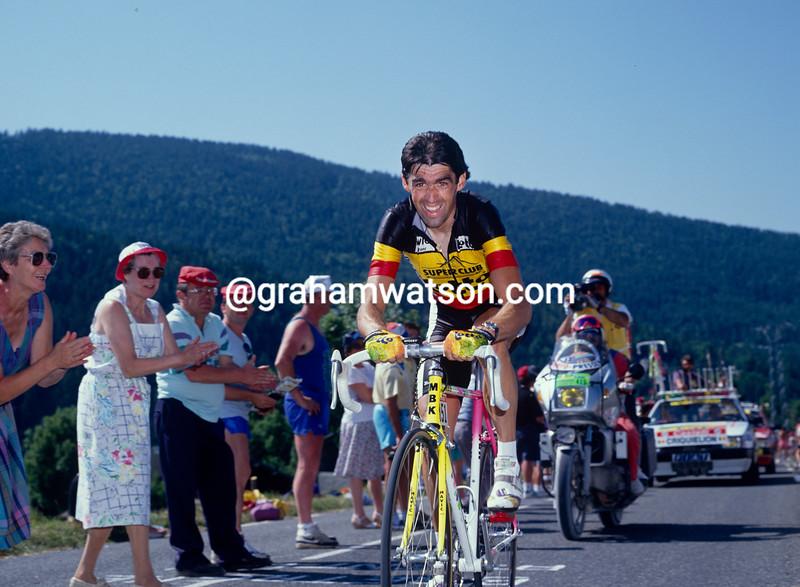 Claude Criquielion in the 1990 Tour de France