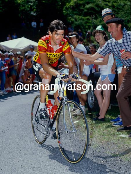 Claude Criquielion in the 1985 Tour de France