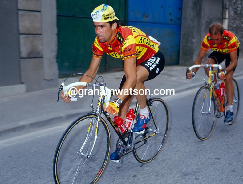 Claude Criquielion in the 1989 Tour de France