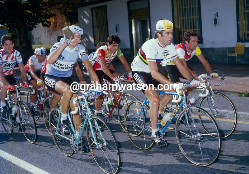 Claude Criquielion in the 1984 Giro di Lombardia