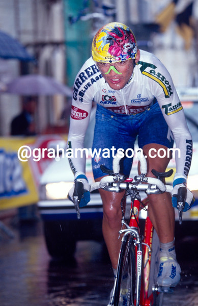 Claudio Chiappucci in the 1993 Giro d'Italia