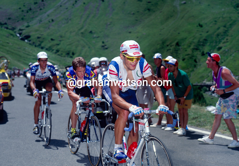 Claudio Chiappucci in the 1991 Tour de France