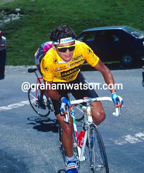 Claudio Chiappucci in the 1990 Tour de France