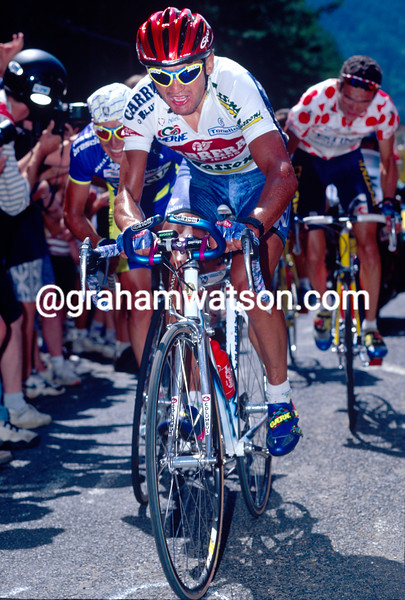 Claudio Chiappucci in the 1995 Tour de France