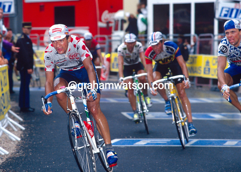 Claudio Chiappucci in the 1992 Tour de France