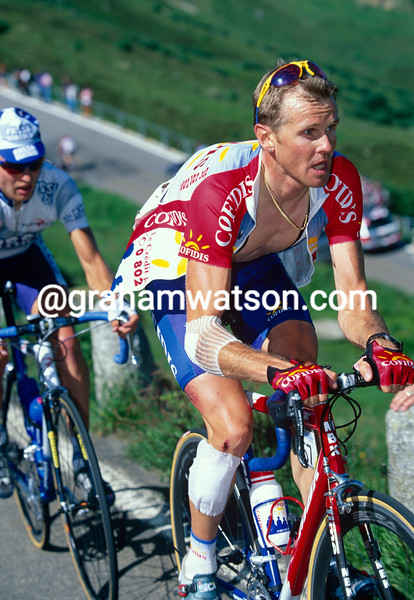Roland Meier in the 1998 Tour of Switzerland