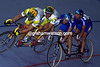 TWO TANDEMS COLLIDE IN THE 1992 WORLD CHAMPIONSHIPS