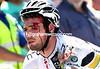 MARK CAVENDISH AFTER A CRASH ON STAGE TWO OF THE 2011 TOUR DOWN UNDER