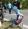 Tyler Farrar has crashed on stage six of the 2012 Giro d'Italia