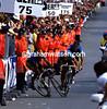 STEVE BAUER AND CLAUDE CRIQUELION CRASH AT THE 1988 WORLD CHAMPIONSHIPS