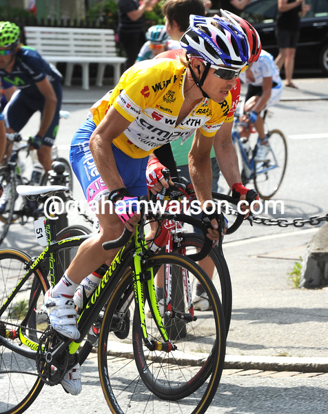 DAMIANO CUNEGO ON STAGE SIX OF THE 2011 TOUR DE SUISSE