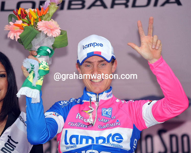 DAMINO CUNEGO WINS THE 2008 TOUR OF LOMBARDY