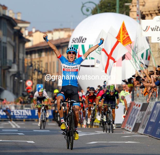 Dan Martin wins the 2014 Il Lombardia