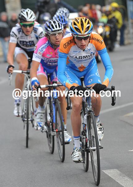 DANIEL MARTIN IN THE 2009 GIRO DI LOMBARDIA