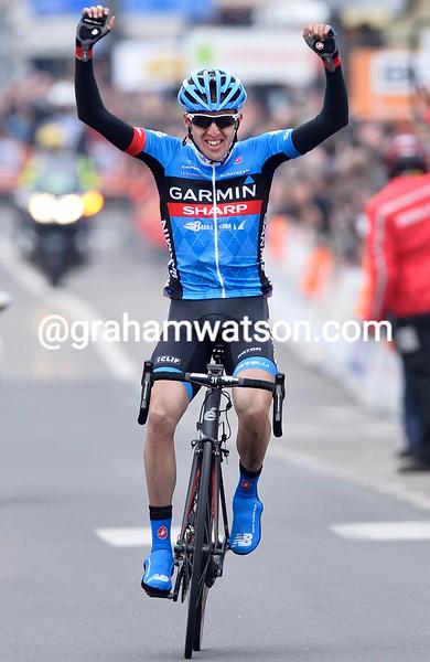 Dan Martin wins the 2013 Liege-Bastogne-Liege