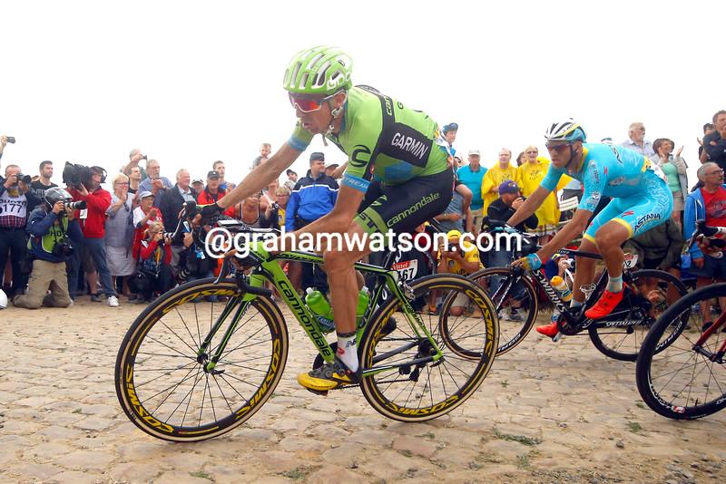Dan Martin on stage four of the 2015 Tour de France