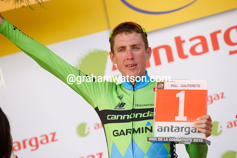 Dan Martin on stage eleven of the 2015 Tour de France