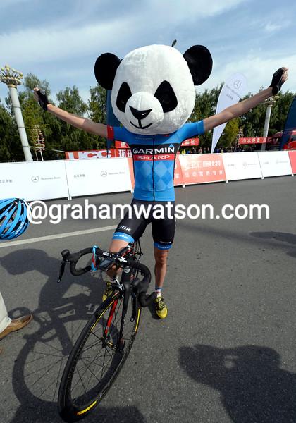 Dan Martin in the 2013 Tour of Beijing