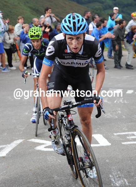 DANIEL MARTIN IN THE 2011 TOUR OF SPAIN