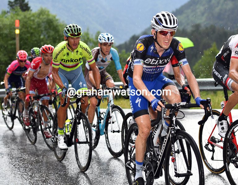 Dan Martin on stage 9 of the 2016 Tour de France