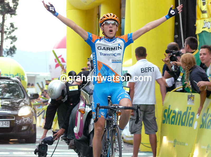 DANIEL MARTIN WINS A STAGE OF THE 2010 TOUR OF POLAND IN WARSAW