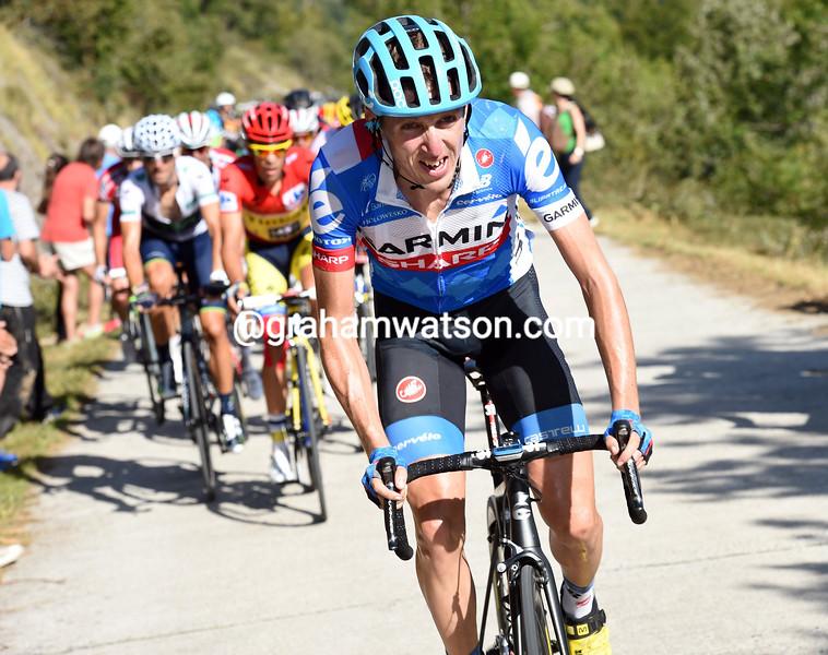 Dan Martin in the 2014 Tour of Spain