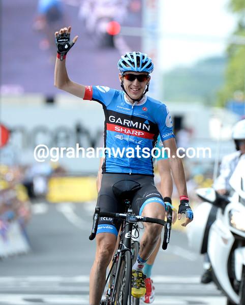 Dan Martin wins stage nine of the 2013 Tour de France