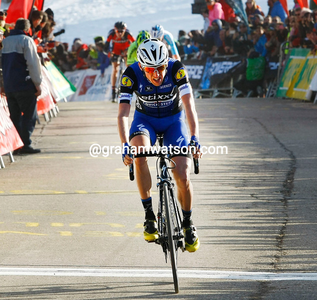 Dan Martin wins stage three of the 2016 Volta a Catalunya